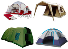 Camping Tent Production