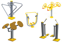Outdoor Fitness Equipment Production